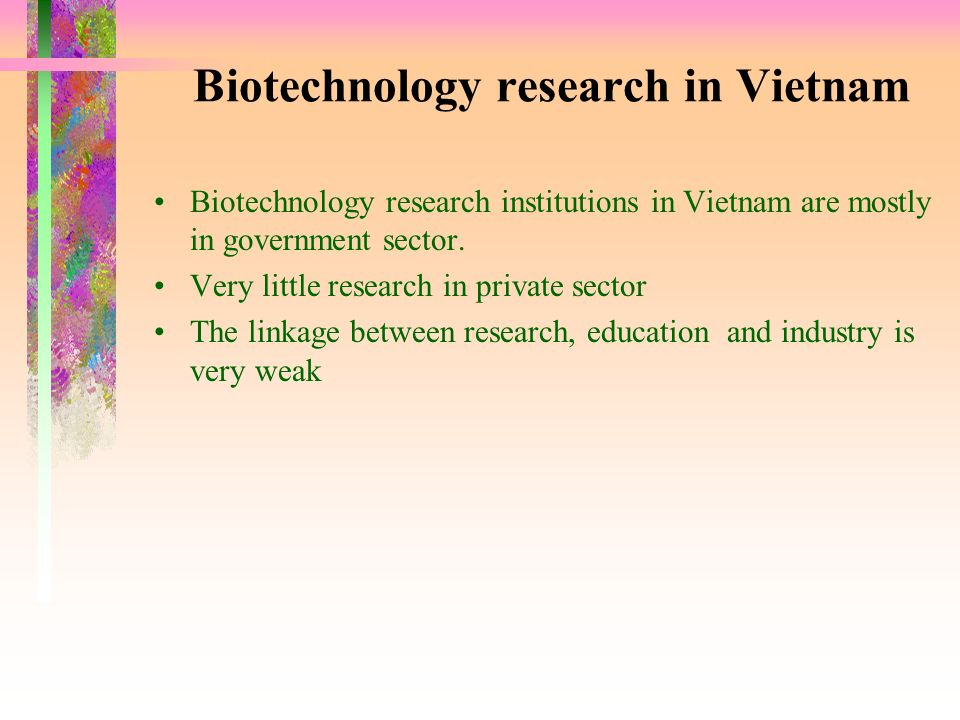 Biotechnology research in Vietnam