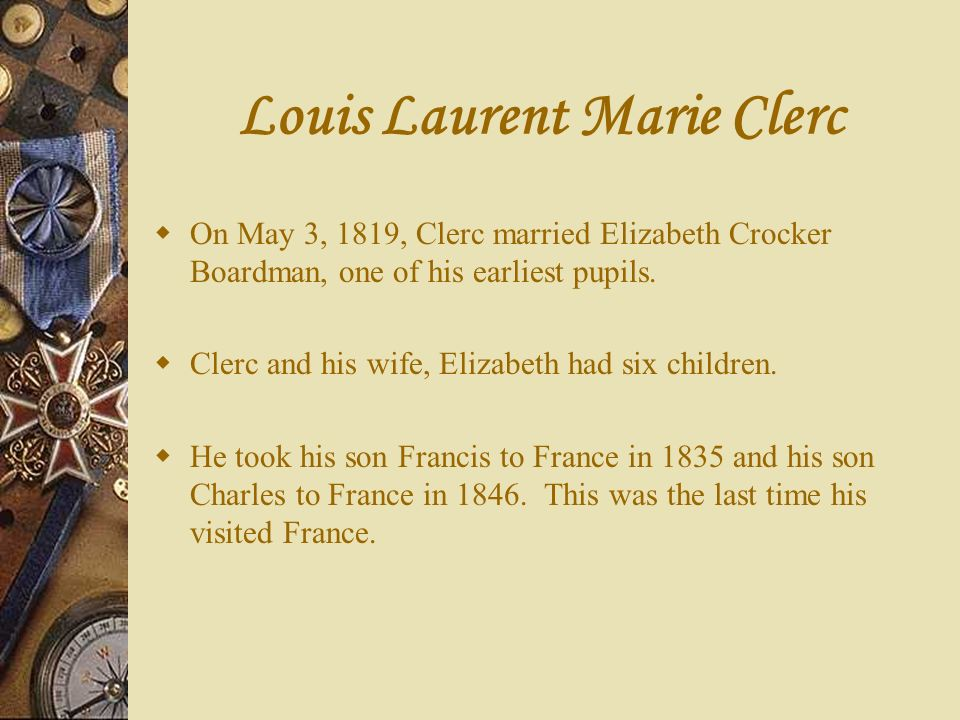 Louis Laurent Marie Clerc