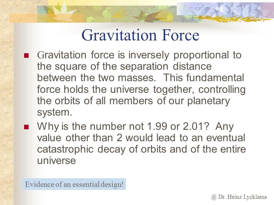 Gravitation Force