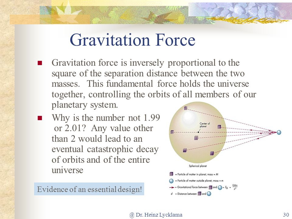 Gravitation Force