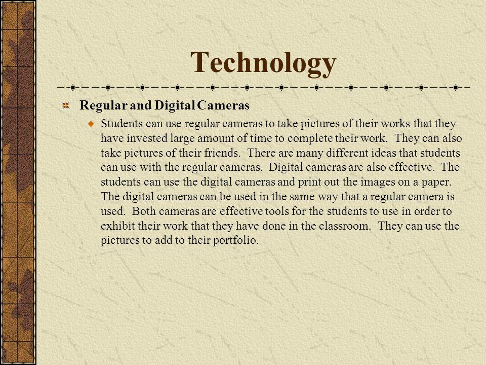 Technology Regular and Digital Cameras