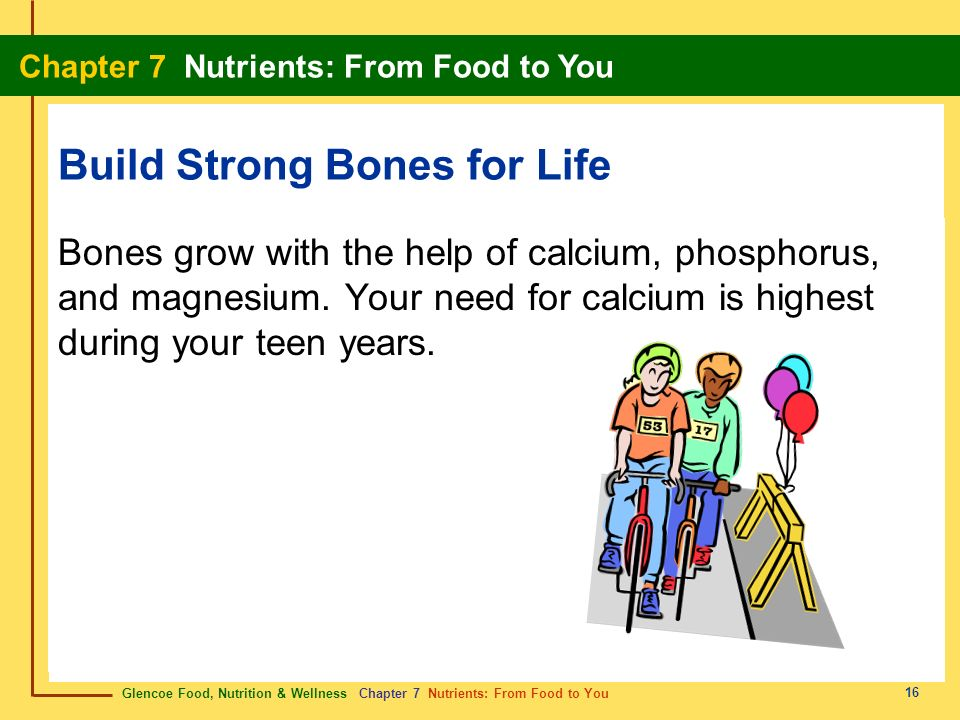 Build Strong Bones for Life