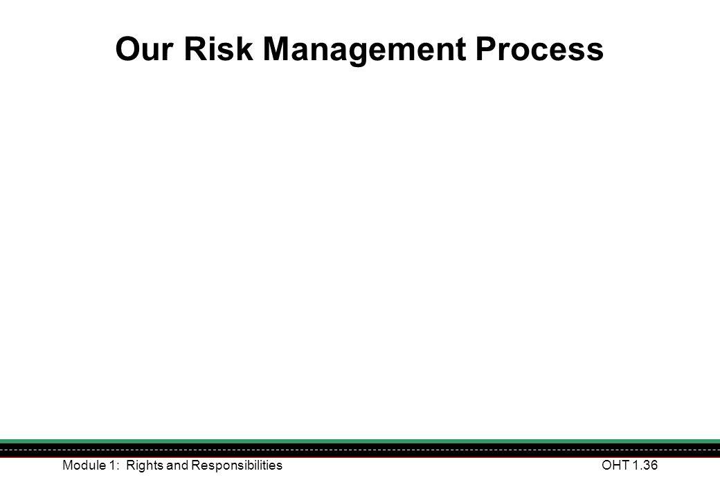 Our Risk Management Process