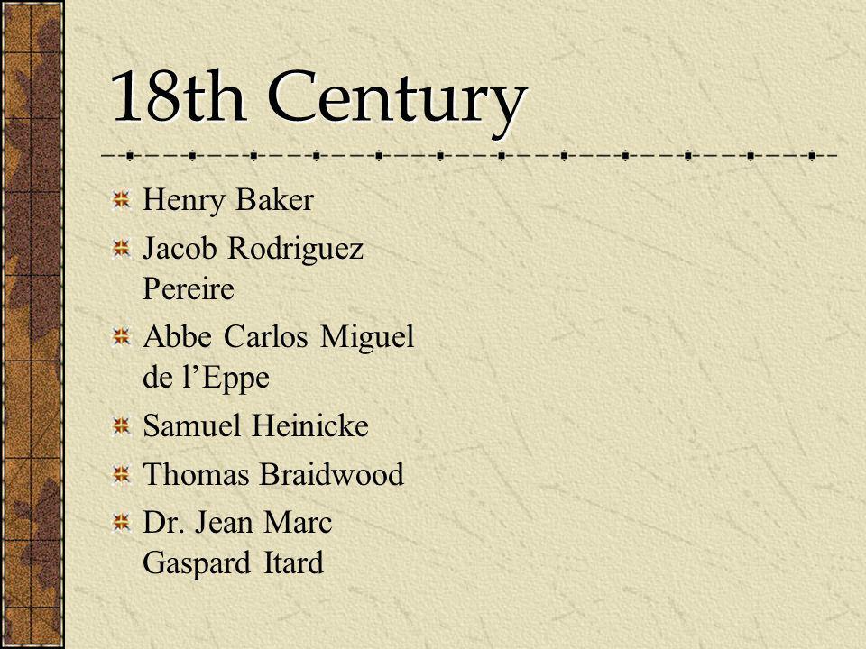 18th Century Henry Baker Jacob Rodriguez Pereire