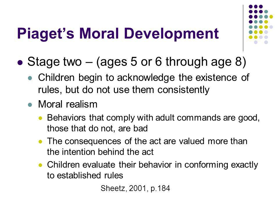 Piaget's Moral Development