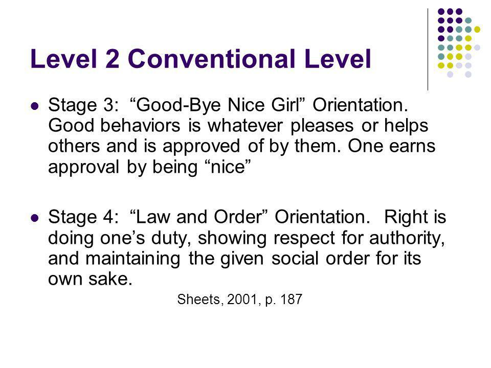 Level 2 Conventional Level