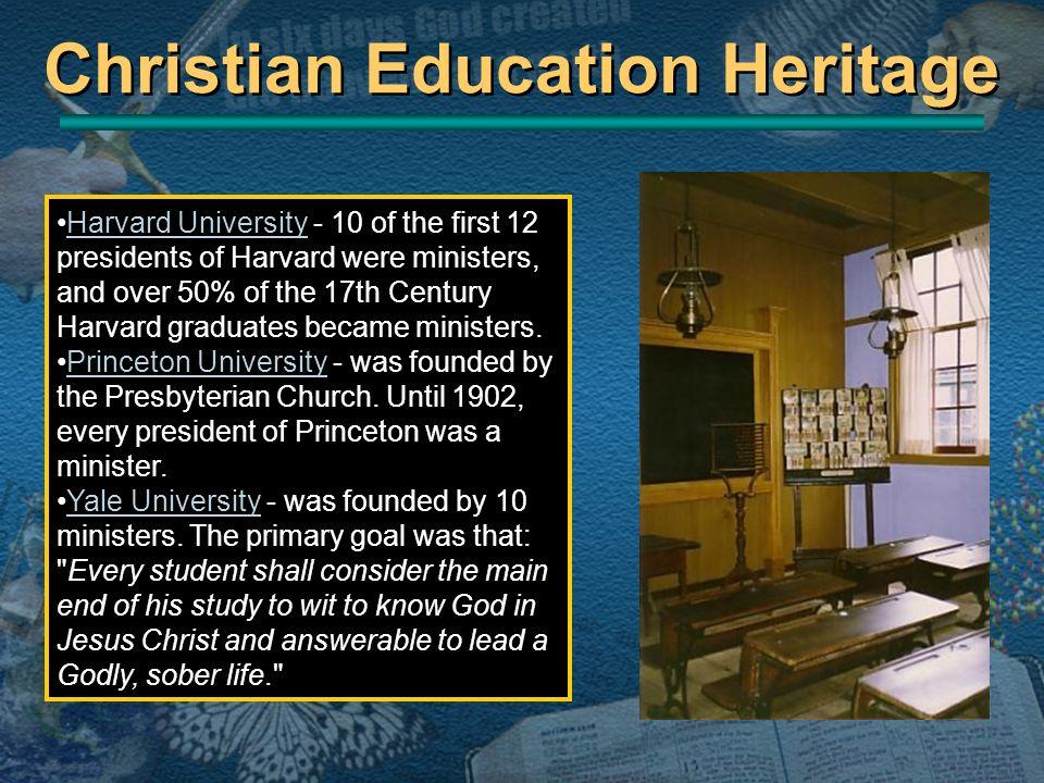Christian Education Heritage