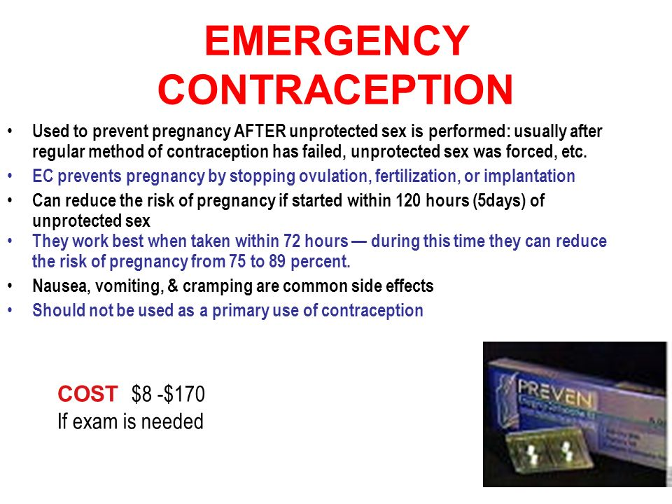 How to prevent pregnancy after unprotected sex naturally pic 14