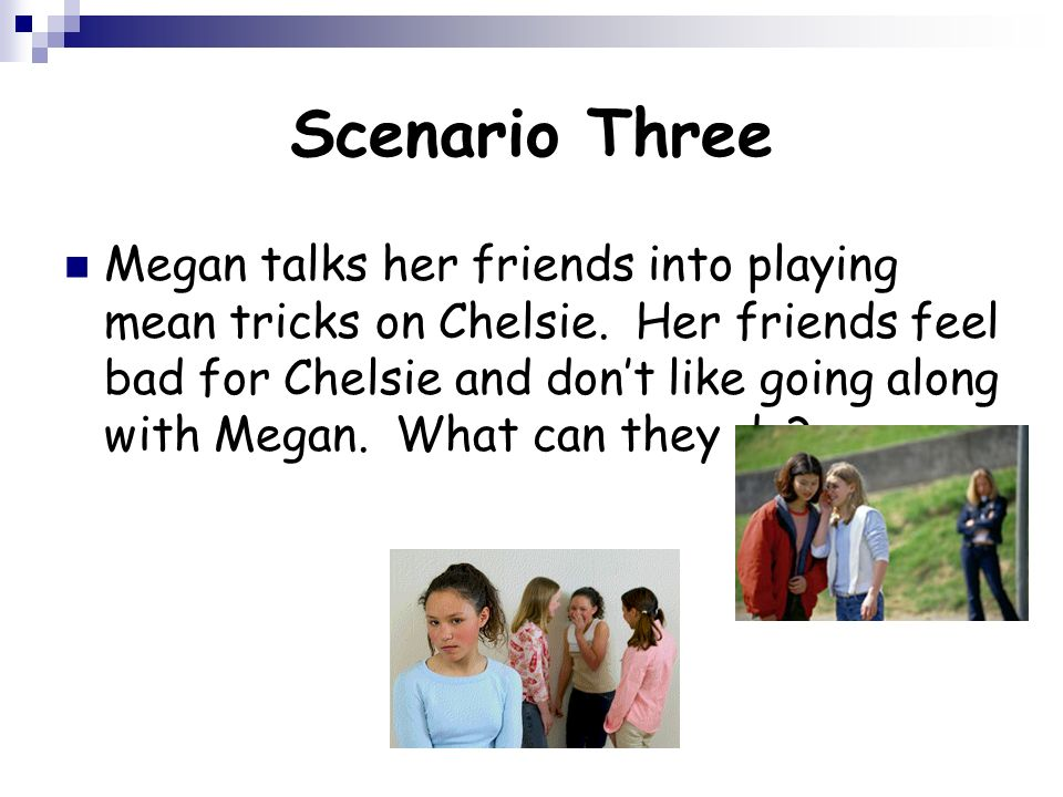 Scenario Three