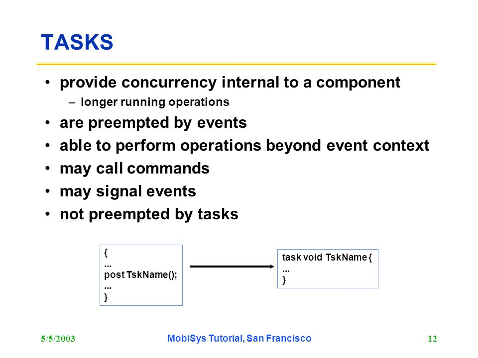 MobiSys Tutorial, San Francisco