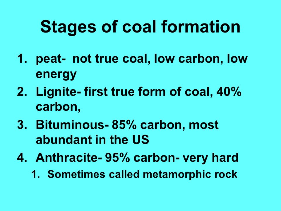 aim what is difference between between coal petroleum