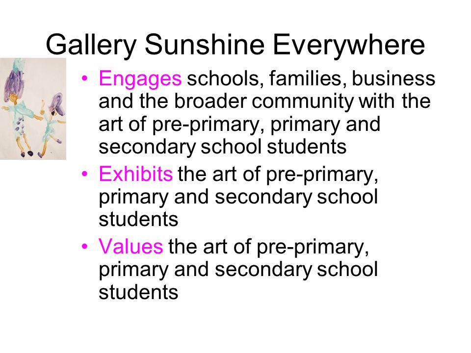 Gallery Sunshine Everywhere