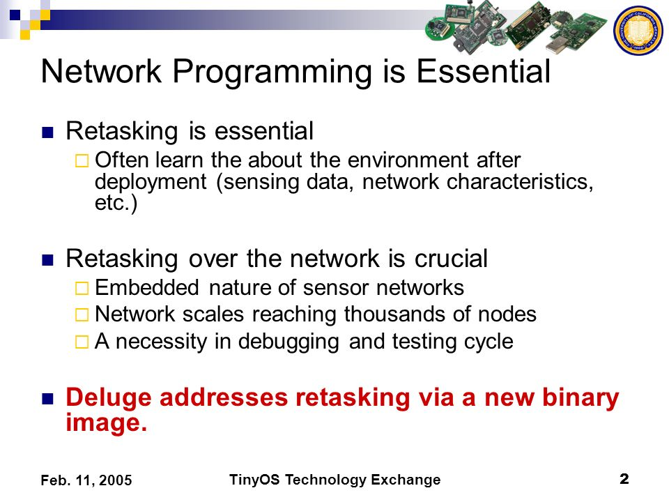 Network Programming is Essential