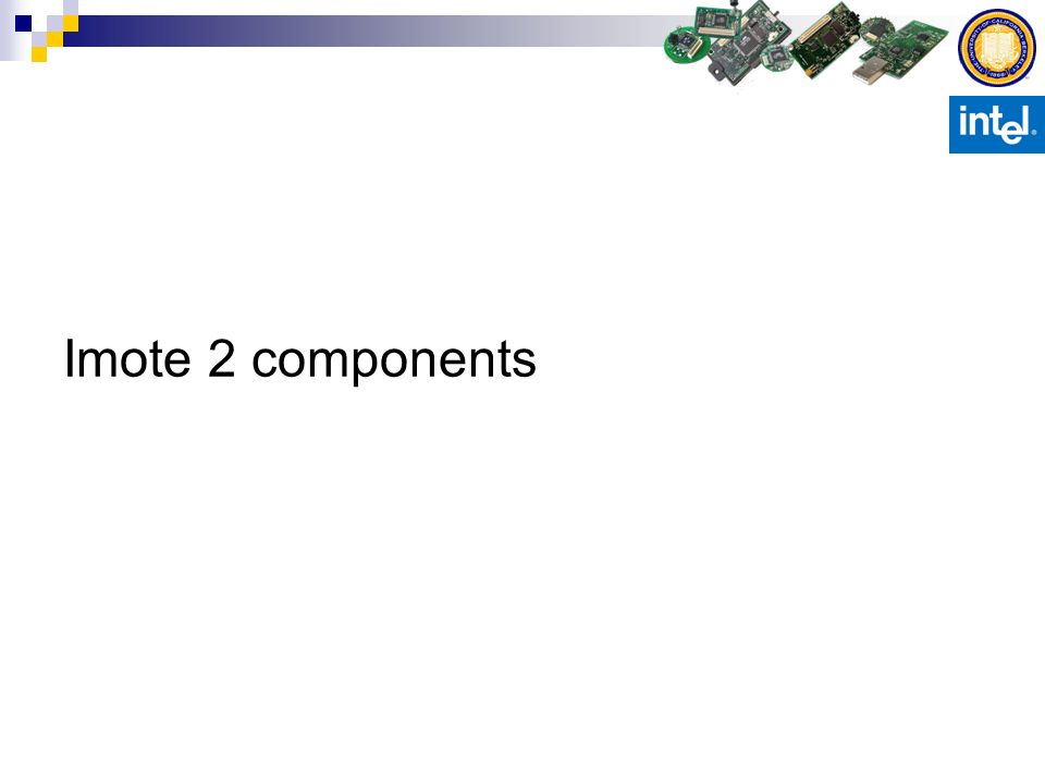 Imote 2 components