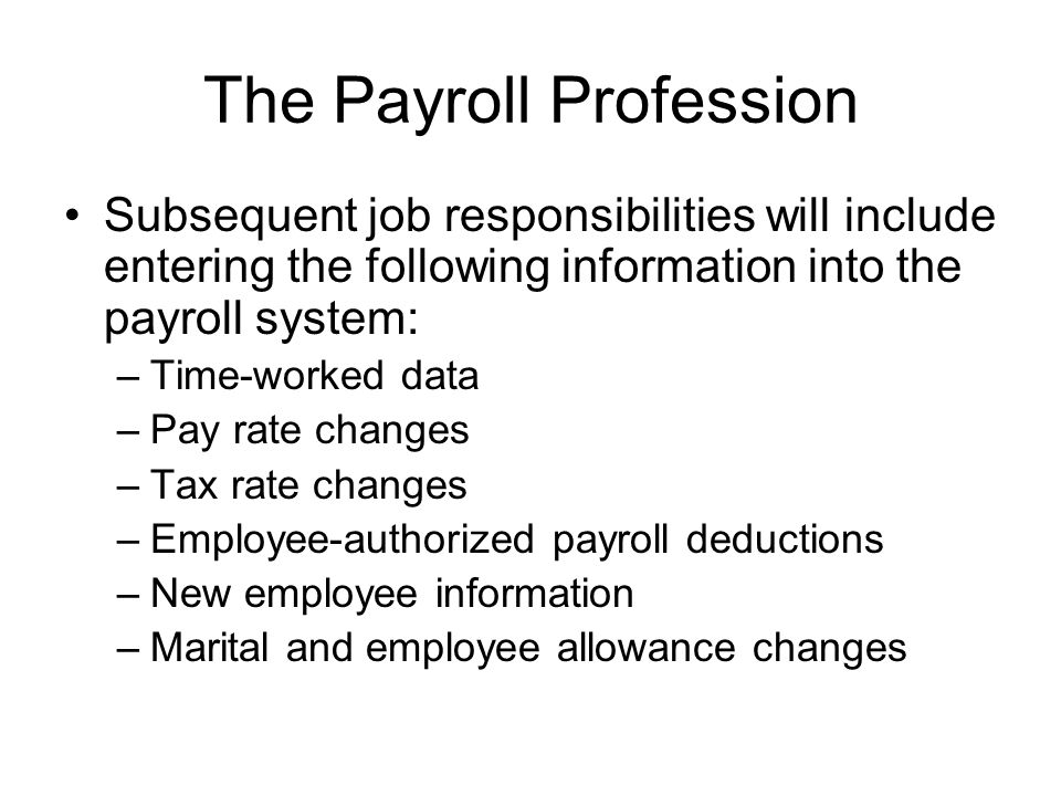 give me bibliography of payroll system How to answer: give me examples of the payroll reports you have prepared for a payroll specialist job interview answered by professional recruiters and hiring managers 28 user-submitted interview answers to.