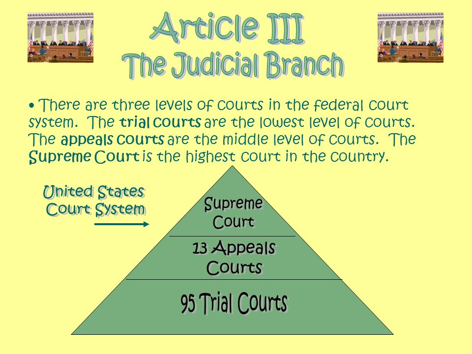 Article III The Judicial Branch United States Supreme Court System