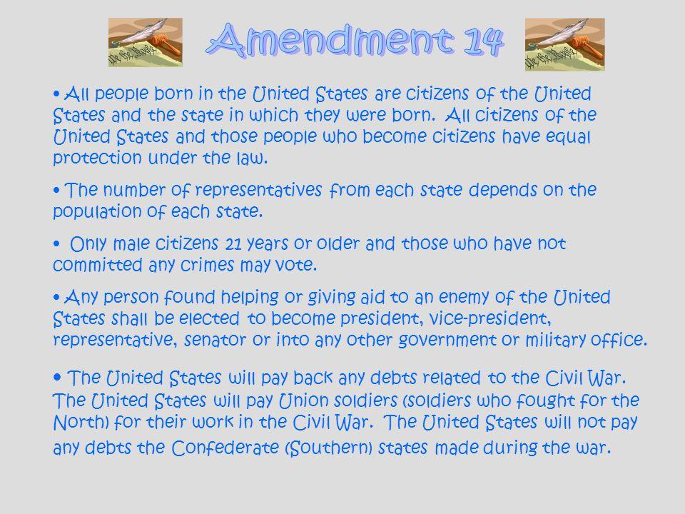 Amendment 14