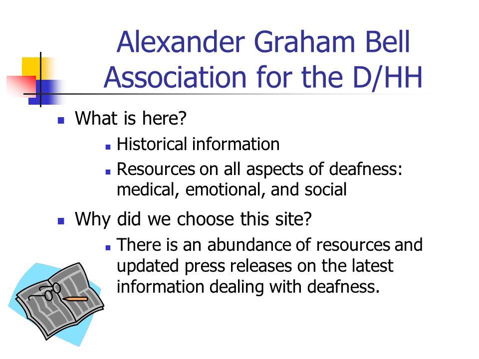 Alexander Graham Bell Association for the D/HH