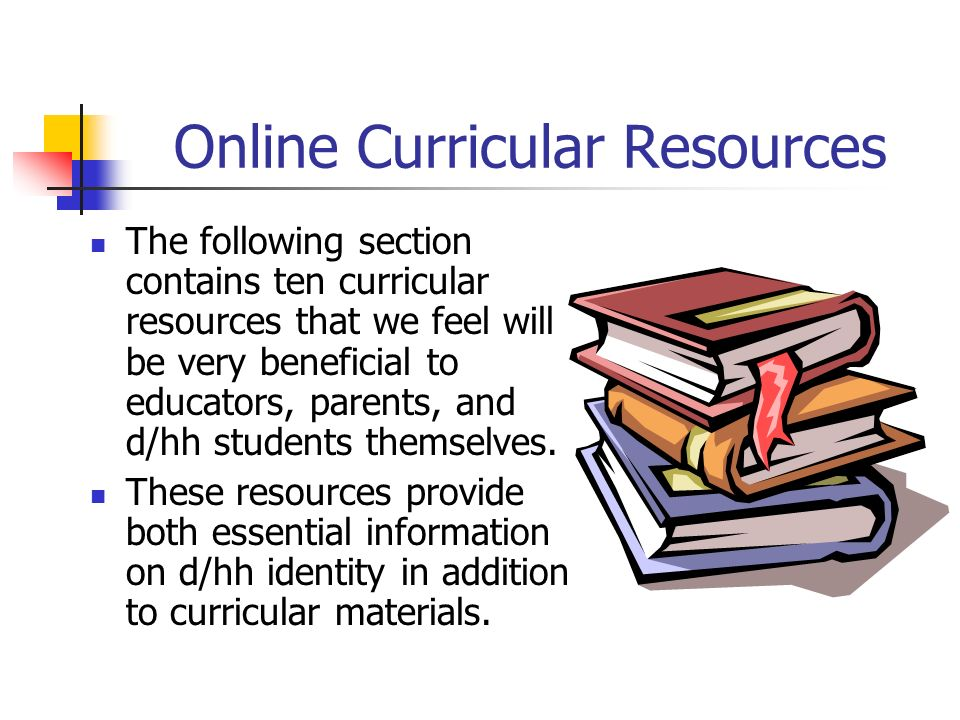 Online Curricular Resources