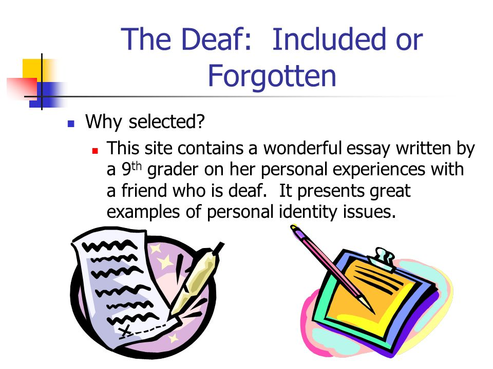 The Deaf: Included or Forgotten