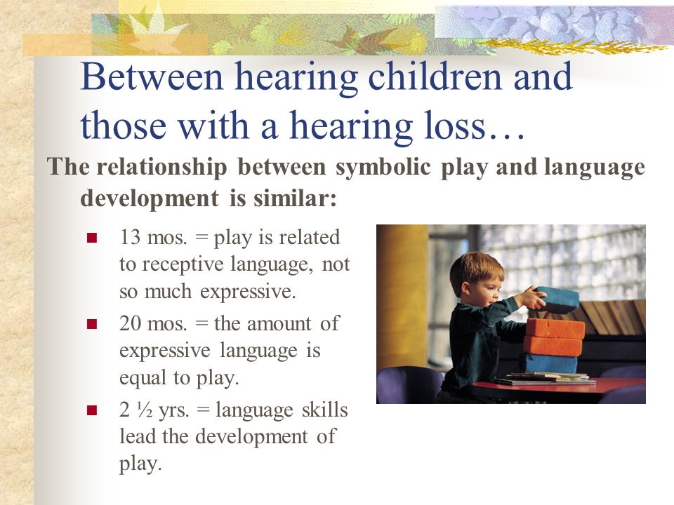 Between hearing children and those with a hearing loss…