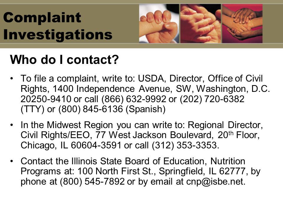 Complaint Investigations