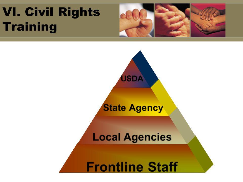 VI. Civil Rights Training