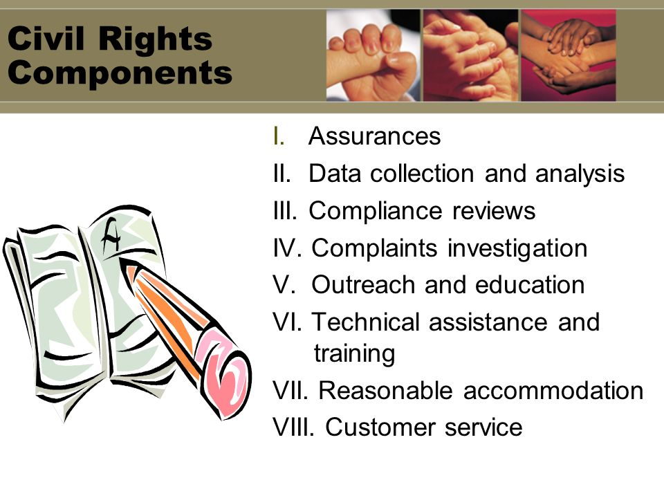 Civil Rights Components