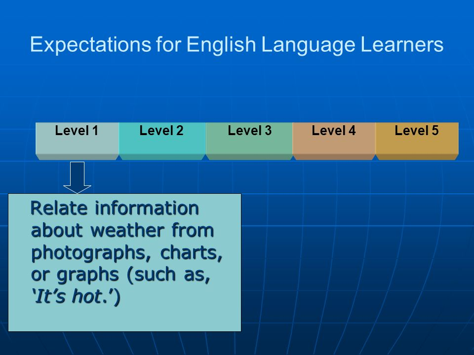 Expectations for English Language Learners