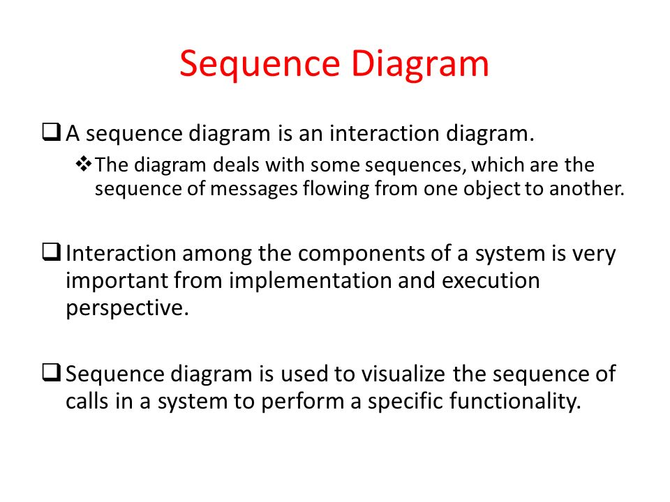 Classification of uml diagrams ppt video online download 45 sequence ccuart Choice Image