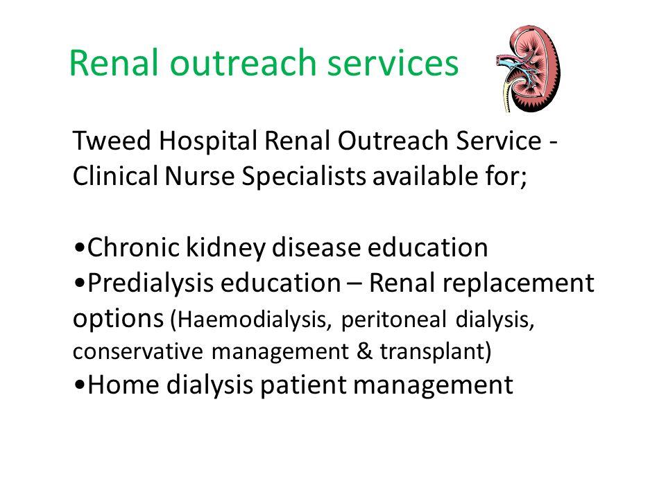 Renal outreach services