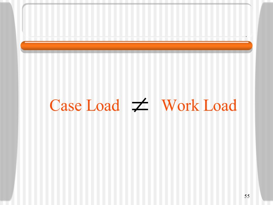 Case Load Work Load