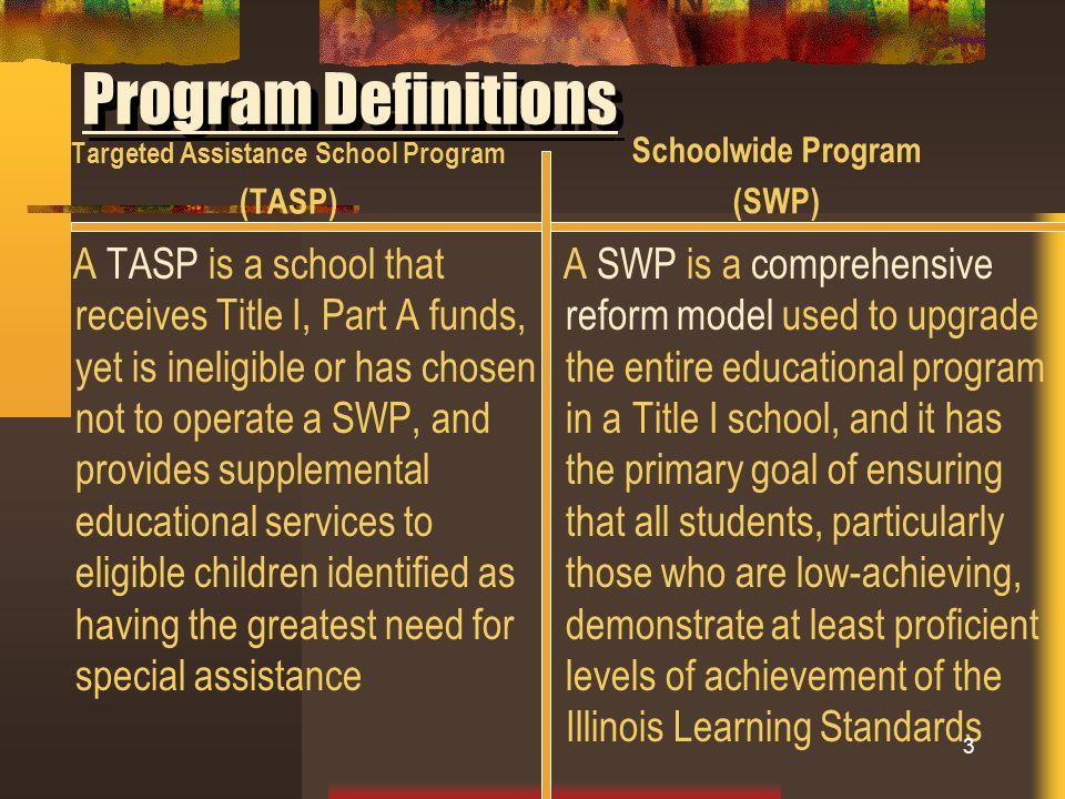 Targeted Assistance School Program