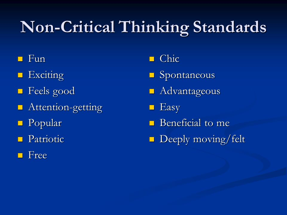 Critical Thinking Non Custodial Parents Party