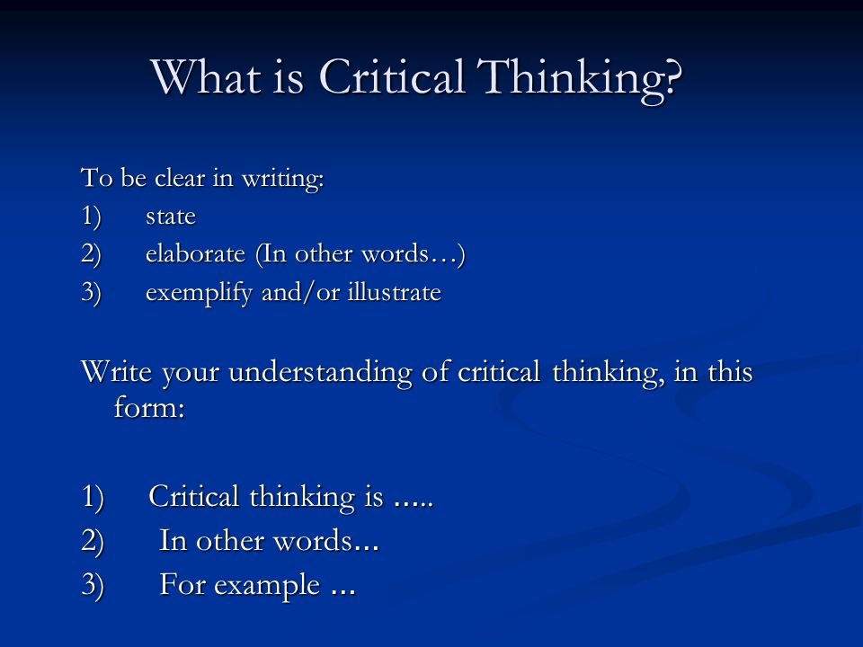chapter 3 clear thinking critical thinking and clear writing Volume 3 (2012)  but those words were written by donald l berry in 1977   critical thinking is a key part of that shared epistemology, a set of skills that   catalog of such pitfalls is rolf dobelli's the art of thinking clearly.