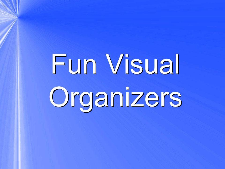 Fun Visual Organizers