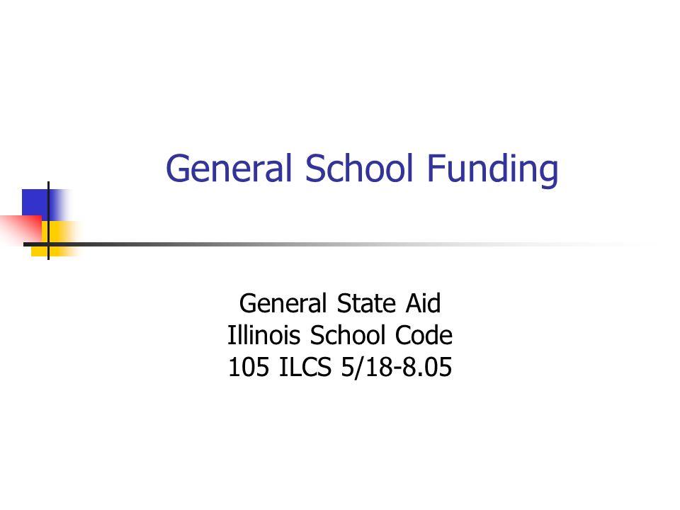 General School Funding