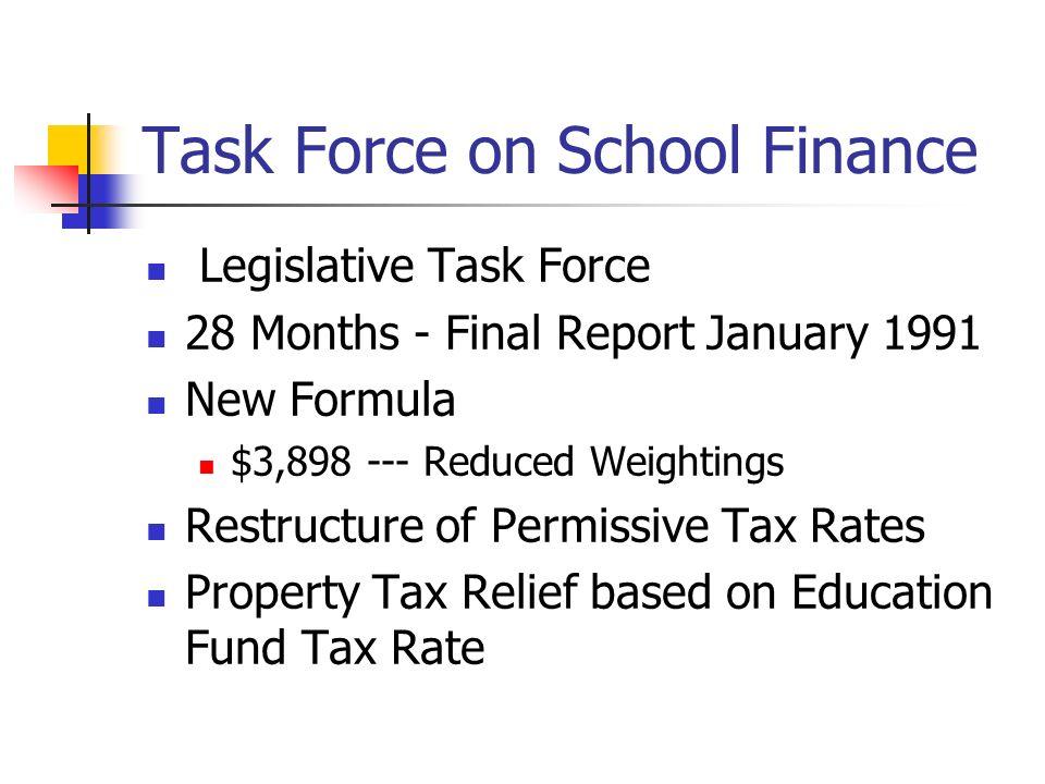 Task Force on School Finance