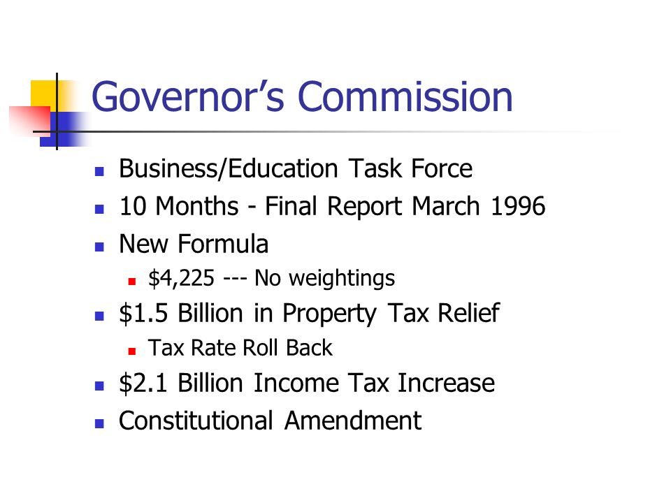 Governor's Commission
