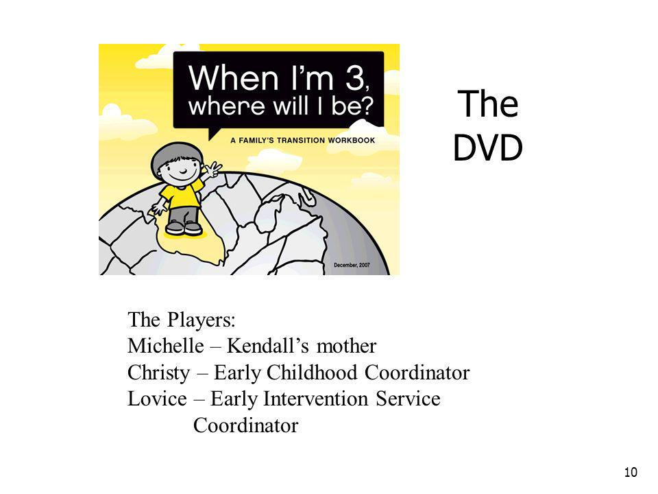 The DVD The Players: Michelle – Kendall's mother