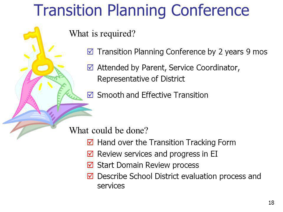 Transition Planning Conference
