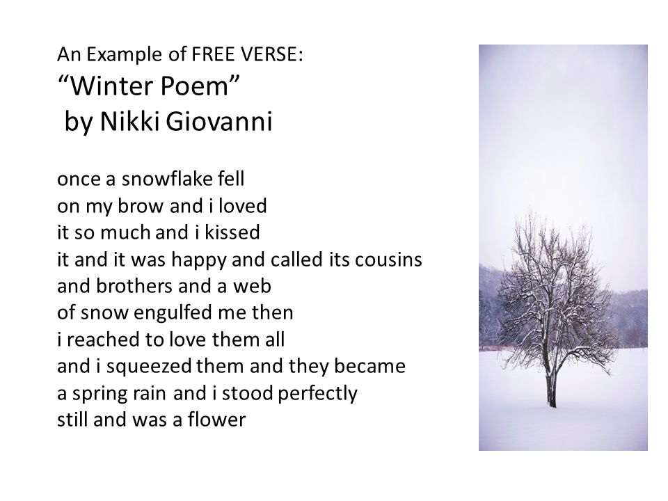 nikki giovani comparing poems Love poems by nikki giovanni addresses love in all its forms, romantic more  information  spin a soft black song: poems for children by nikki giovanni.