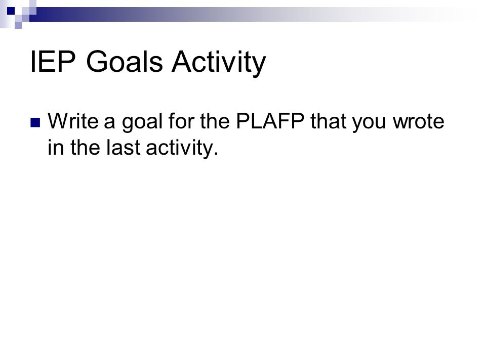 How to Write IEP Goals: A Guide for Parents and Professionals