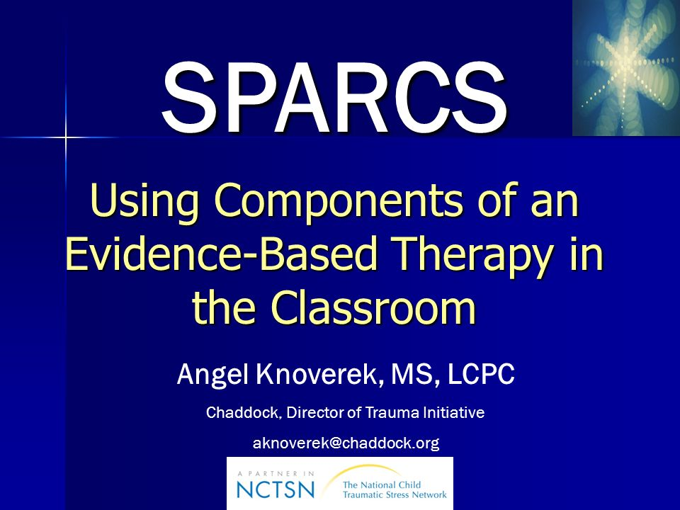 Using Components of an Evidence-Based Therapy in the Classroom