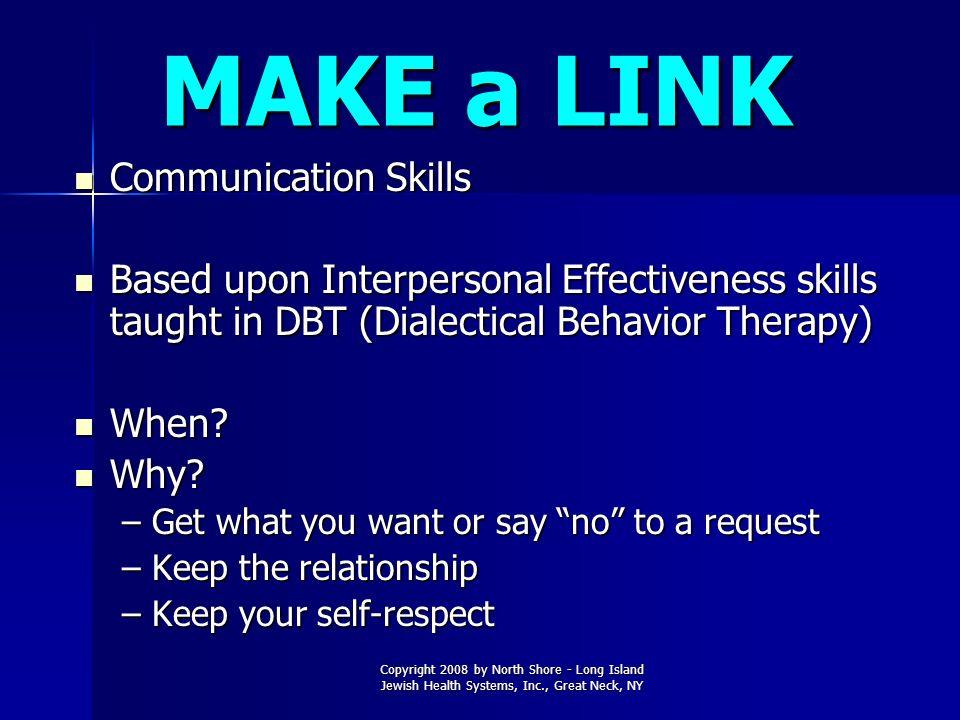 MAKE a LINK Communication Skills