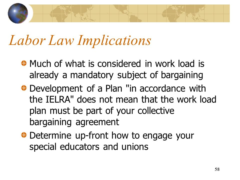Labor Law Implications