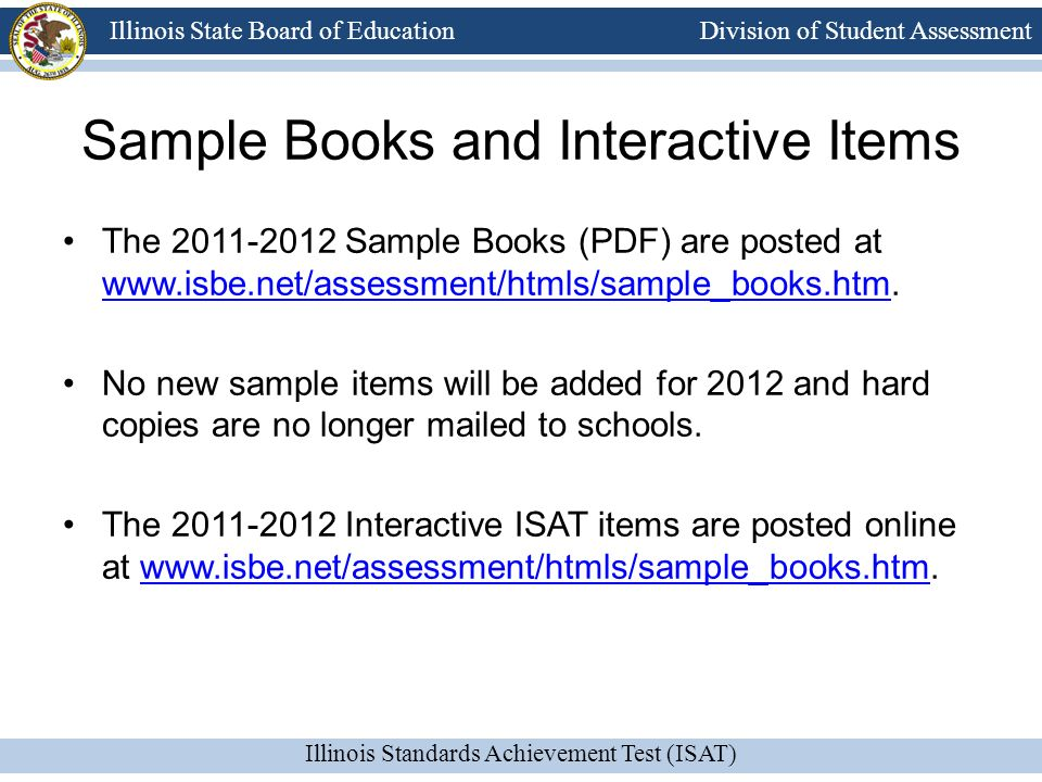 Sample Books and Interactive Items