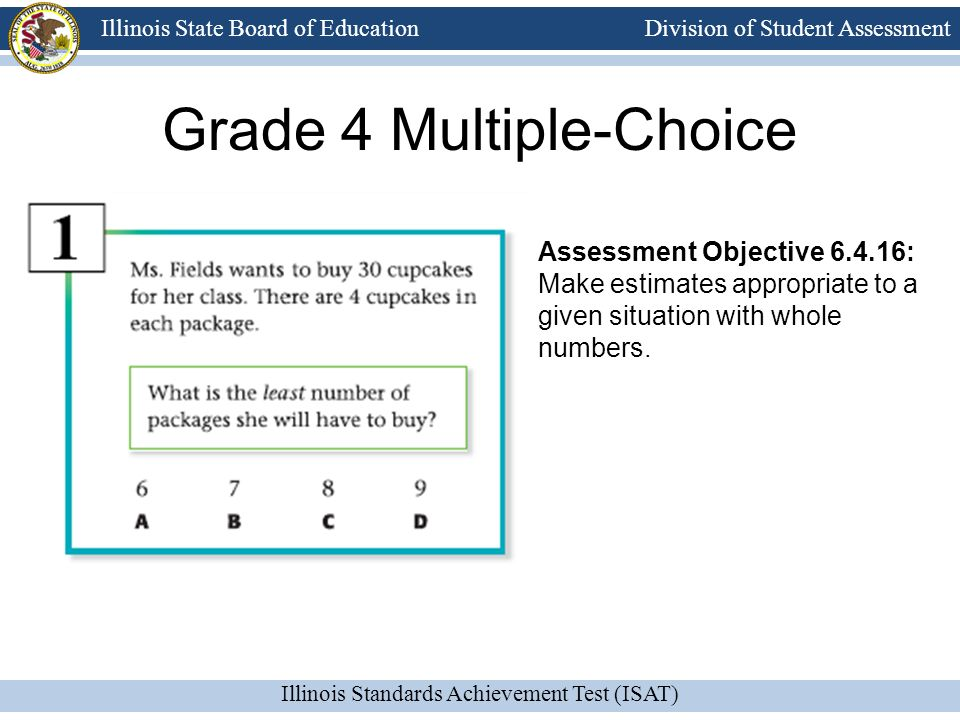 Grade 4 Multiple-Choice