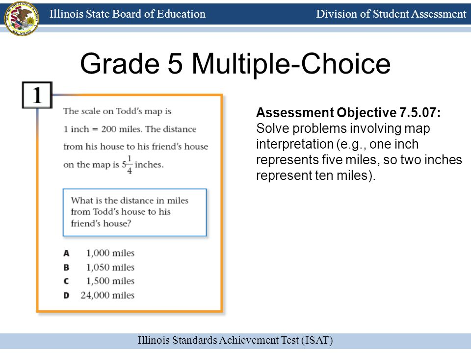 Grade 5 Multiple-Choice