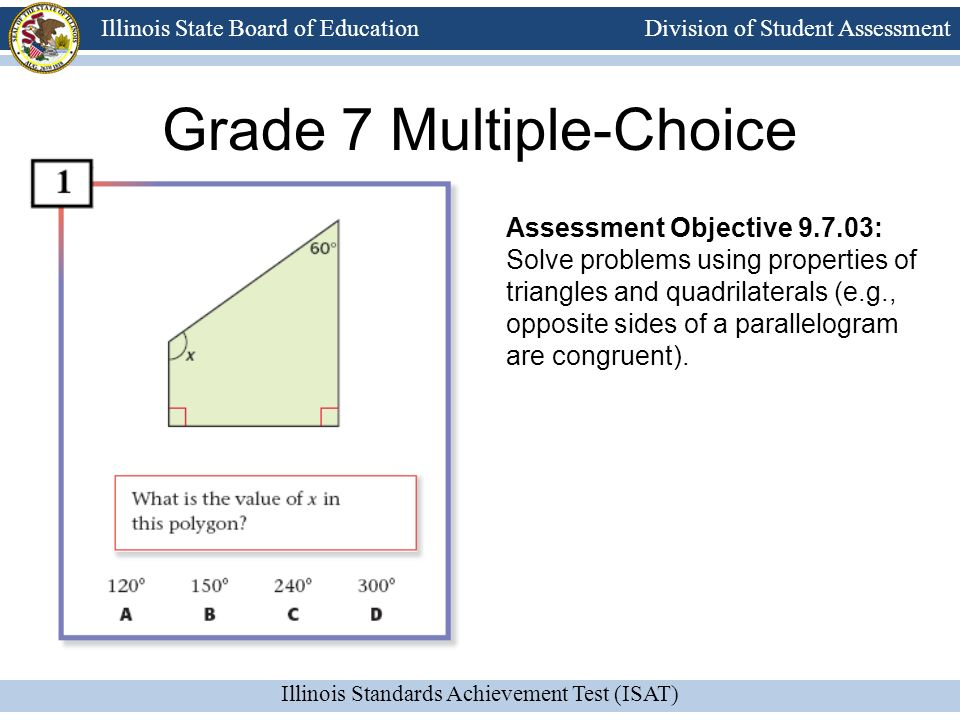 Grade 7 Multiple-Choice